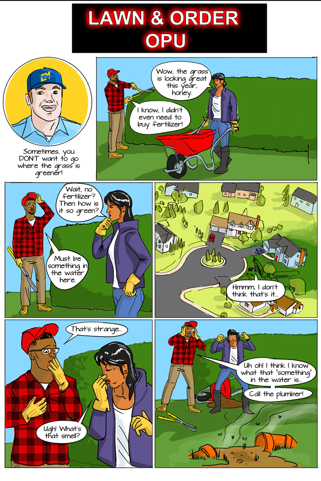 septic tank problems comic